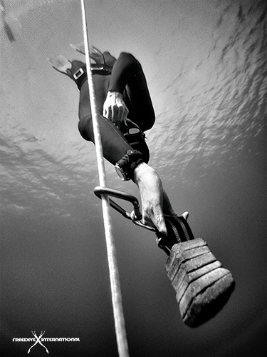 how to do freediving in variable weight